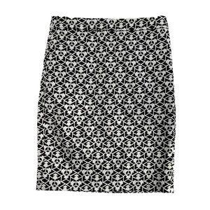 NWOT J.Crew Geometric Pencil Skirt